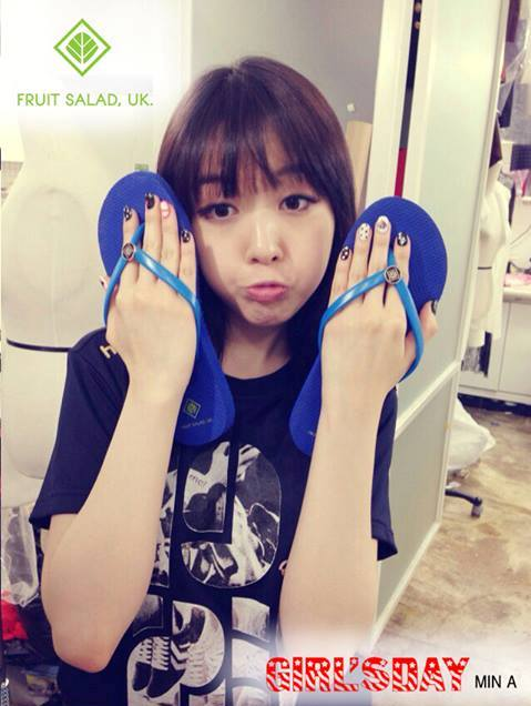 Girl's Day Minah