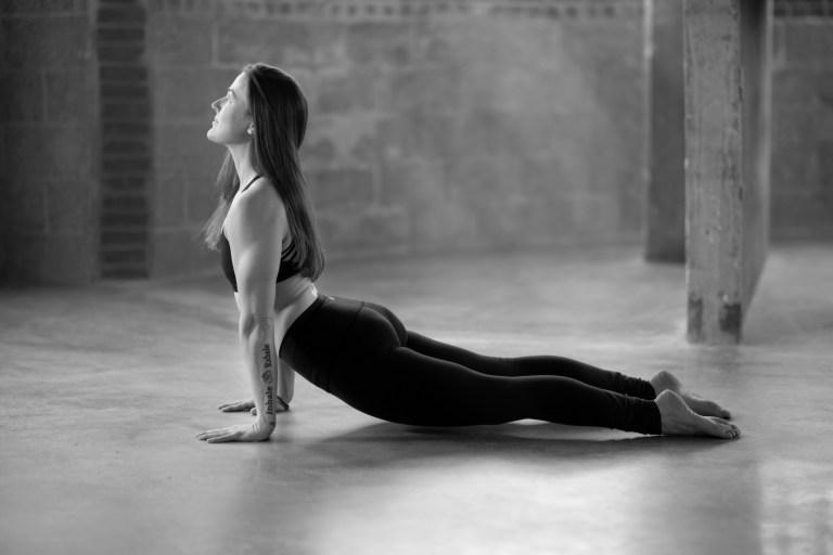 Lina Lindahl Yoga Pose