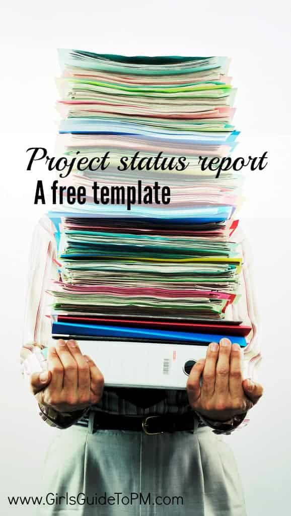 Obtenga una plantilla de informe de estado gratuita para decirle a su gerente qué progreso ha realizado #projectmanagement