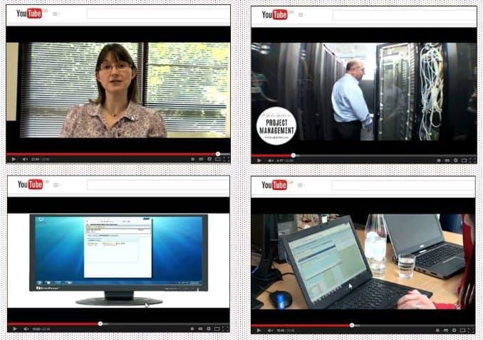 Comunicación del proyecto con video