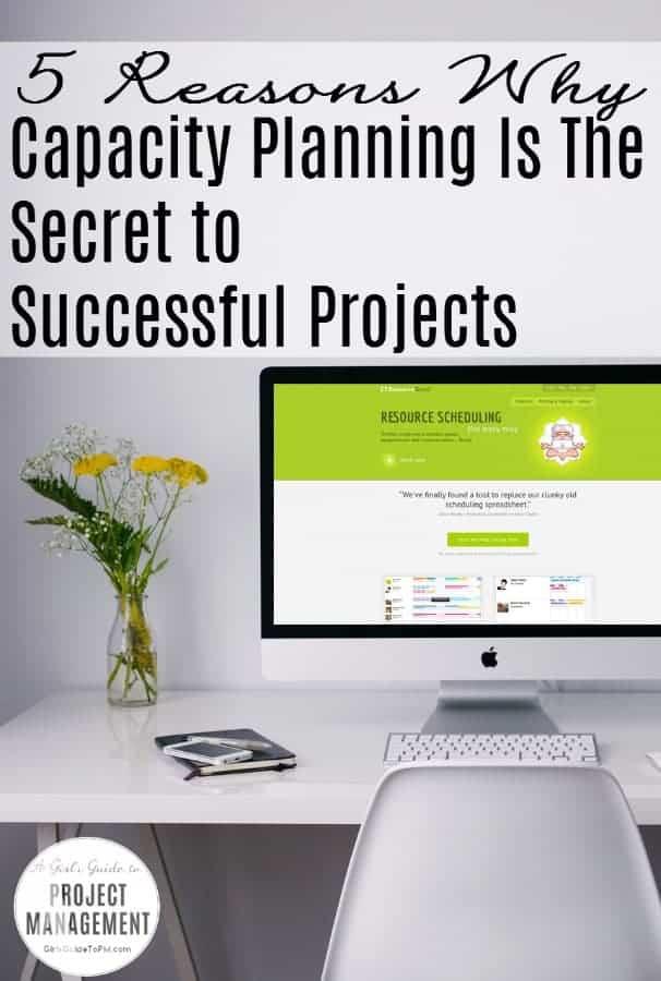 5 razones por las que la planificación de la capacidad es el secreto para proyectos exitosos