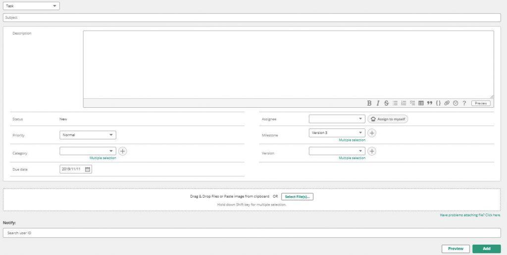 agregar la pantalla de tareas en el trabajo pendiente