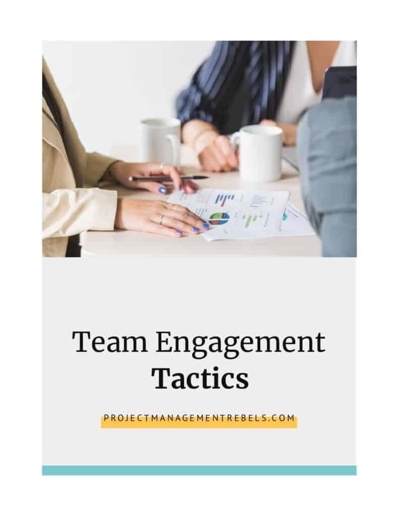 Tácticas de participación en equipo