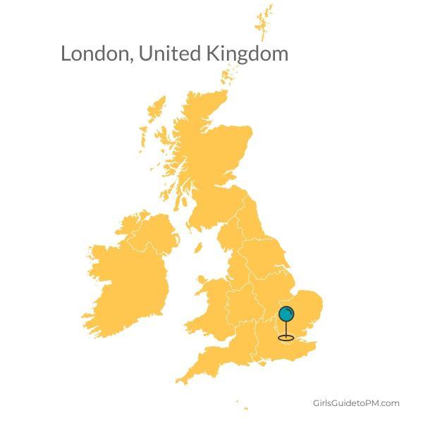 Mapa de Londres Reino Unido