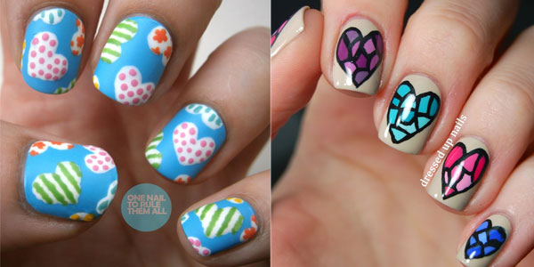Simple Nail Art Designs Images And Wallpapers