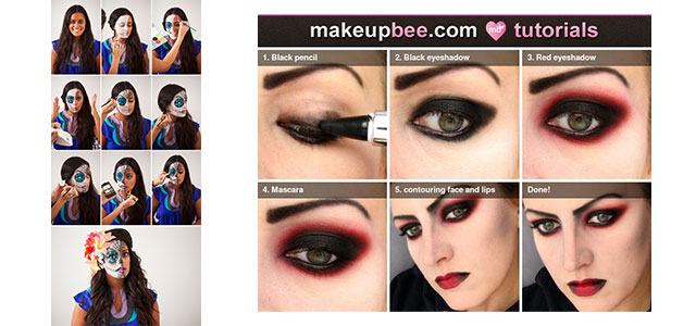 25 makeup looks that are actually easy - Halloween Makeup For Beginners