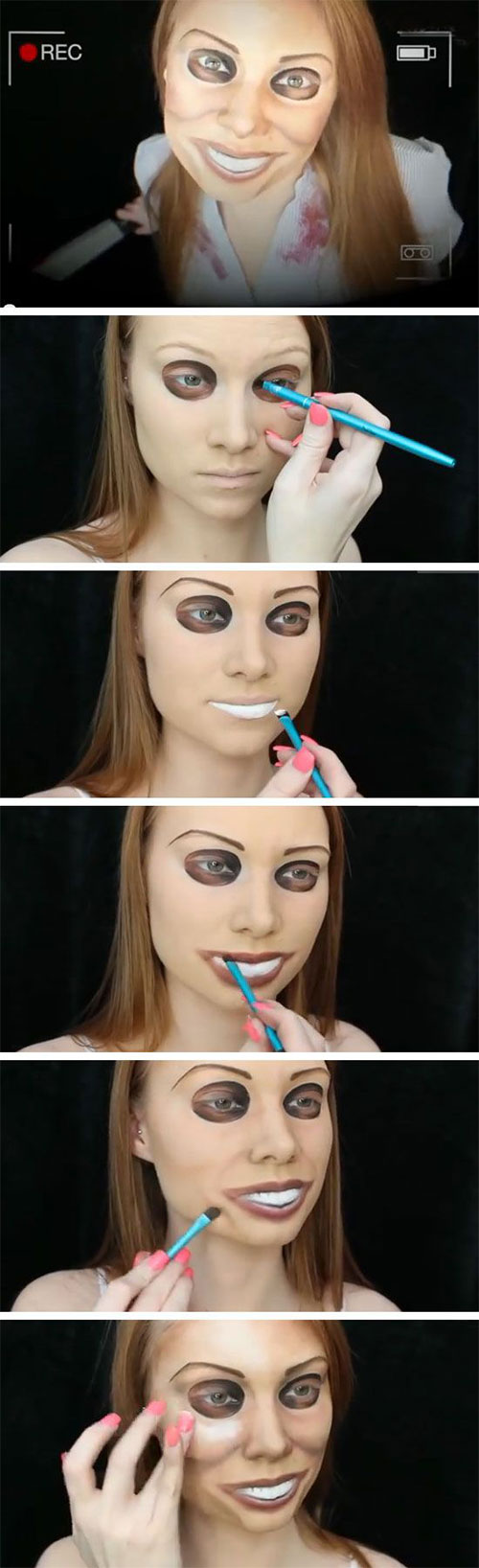 15 best easy halloween makeup tutorials for beginners learners