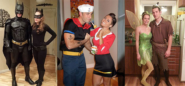 15 Creative Unique Couple Halloween Costume Ideas 2017 Girlshue  sc 1 st  Cartoonview.co & Cool Couple Halloween Costume Ideas | Cartoonview.co