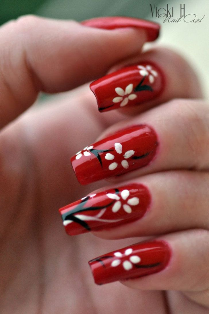 10 Ideas For Chinese New Year Nail Art 2017 3 Shue