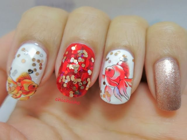 Chinese New Year Nails Nail Art Cny