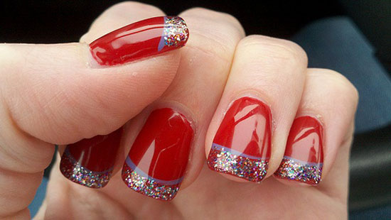 Christmas Nail Art Design 6 Source