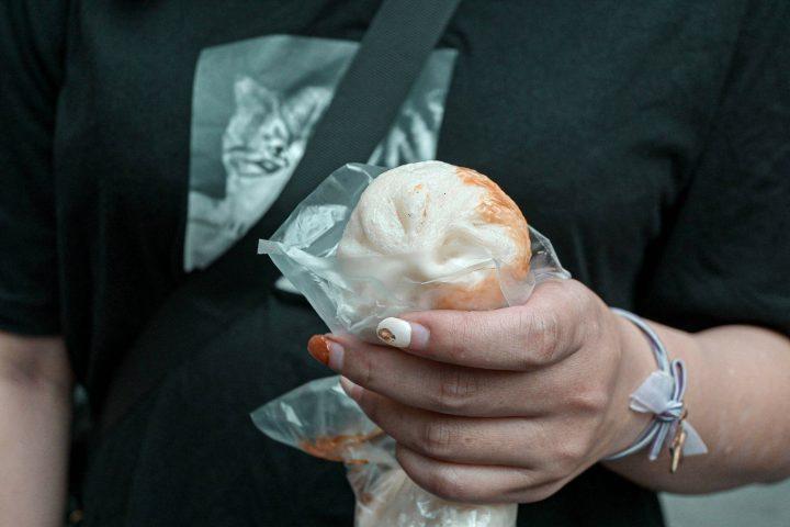 【三重美食】集美街5元煎包小籠包:沒看錯一顆只要5元,排隊人氣小吃/銅板美食 @女子的休假計劃