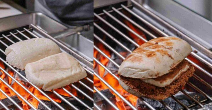 【高雄美食】路邊碳烤手工饅頭超創意!冰火提拉米酥饅頭吃過沒! @女子的休假計劃