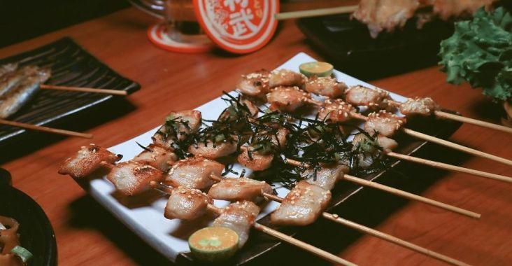 【新竹居酒屋推薦】大村武串燒日式居酒屋,一秒來到日本,CP值超高平價串燒。 @女子的休假計劃