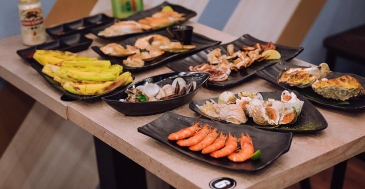 【樂華夜市必吃美食】大船百元海鮮燒烤:百元起跳平價優質海鮮,尚青! @女子的休假計劃