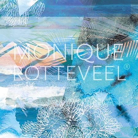 Monique Rotteveel Activewear Ocean Print Surf & Yogawear