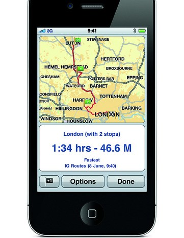 Navigate on your iPhone with Tom Tom