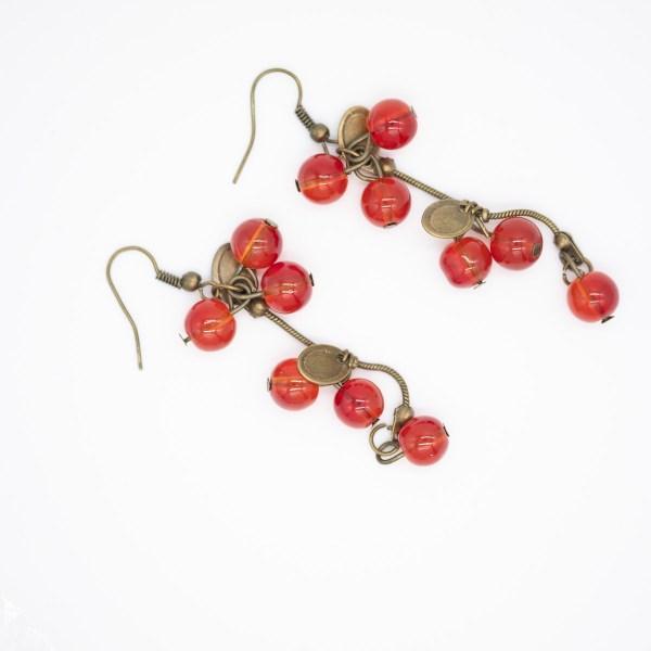 ORB-002 – Demeter oorbellen herfstkleuren