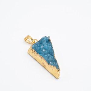 blauwe agaat hanger kopen
