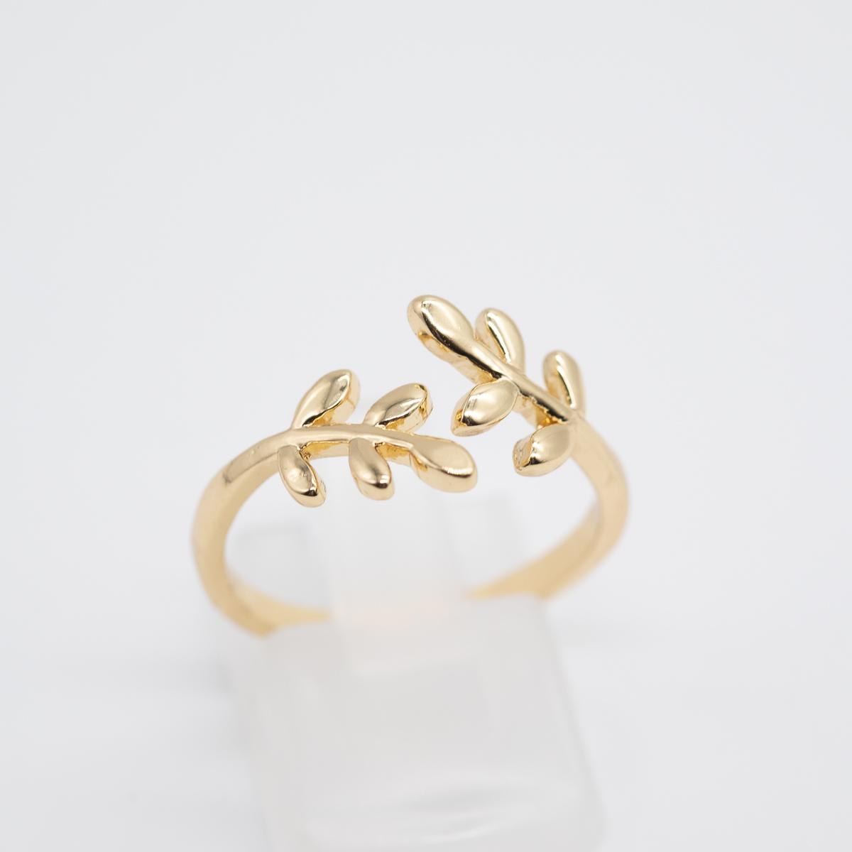 RNG-003 boho bohemian ring goud metaal