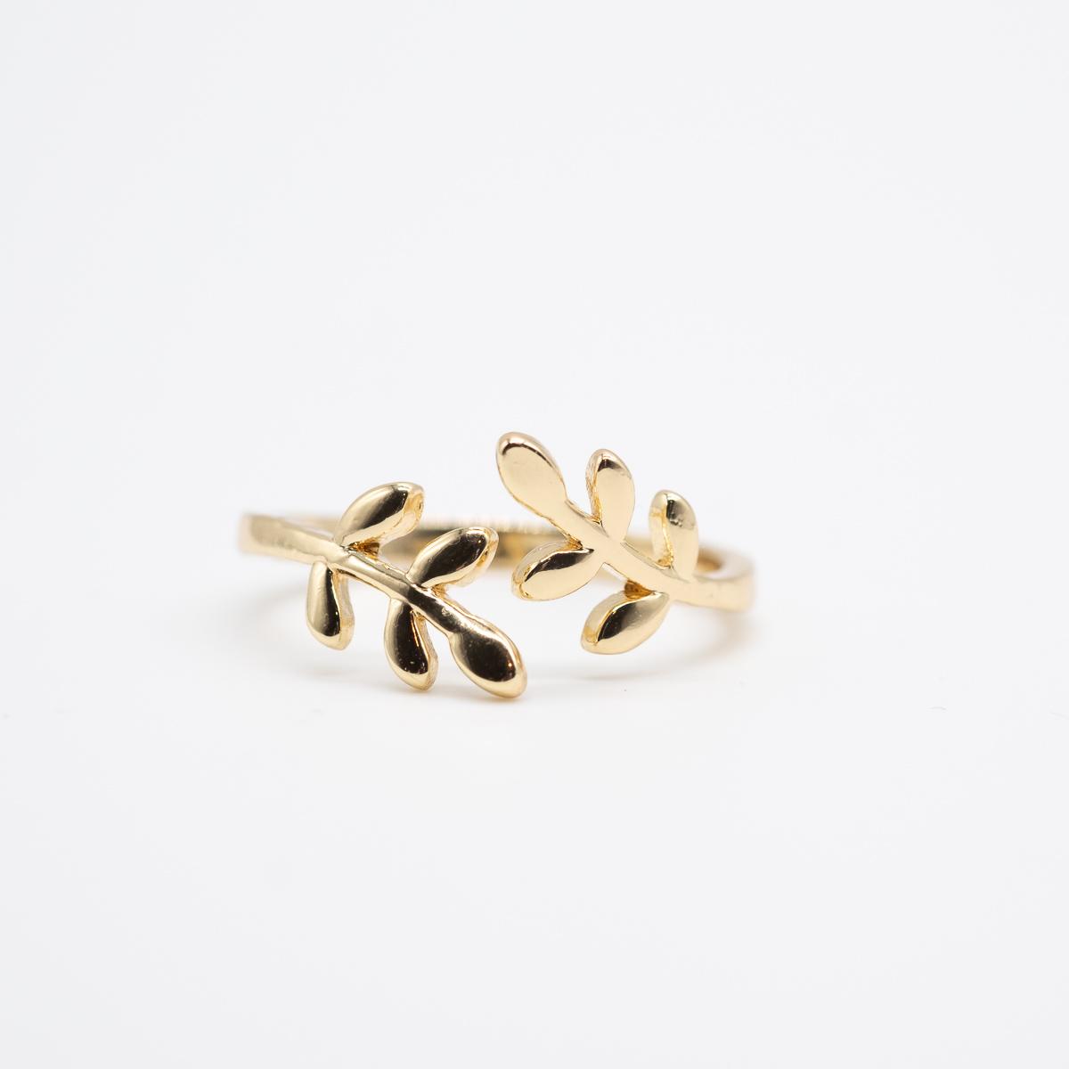 RNG-003 boho ring goud metaal