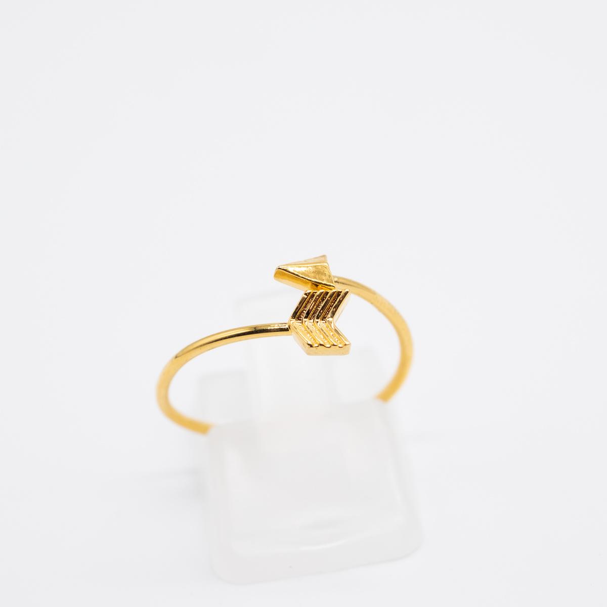 RNG-004 goud bohemian ring pijl