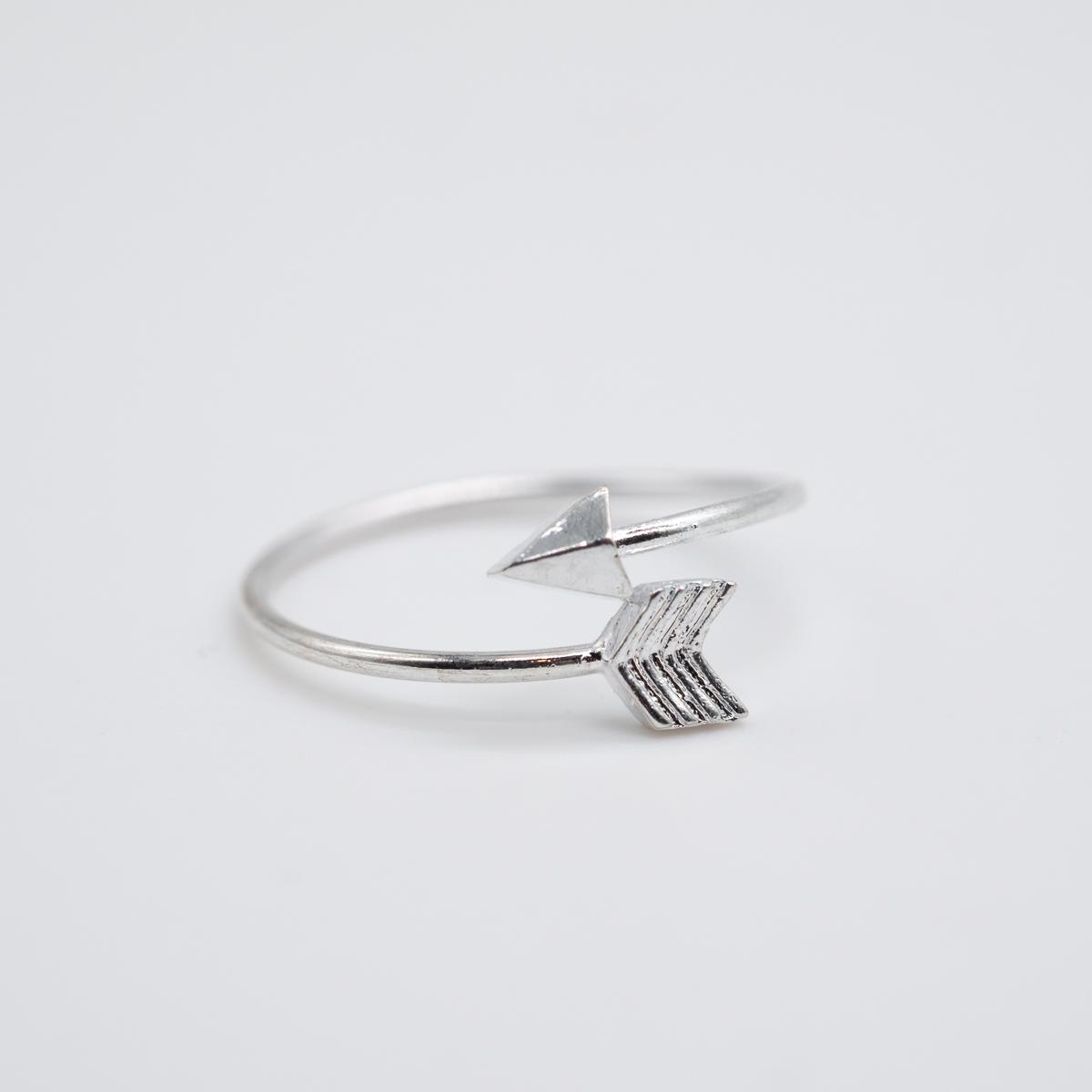 RNG-004 zilver metaal boho ring