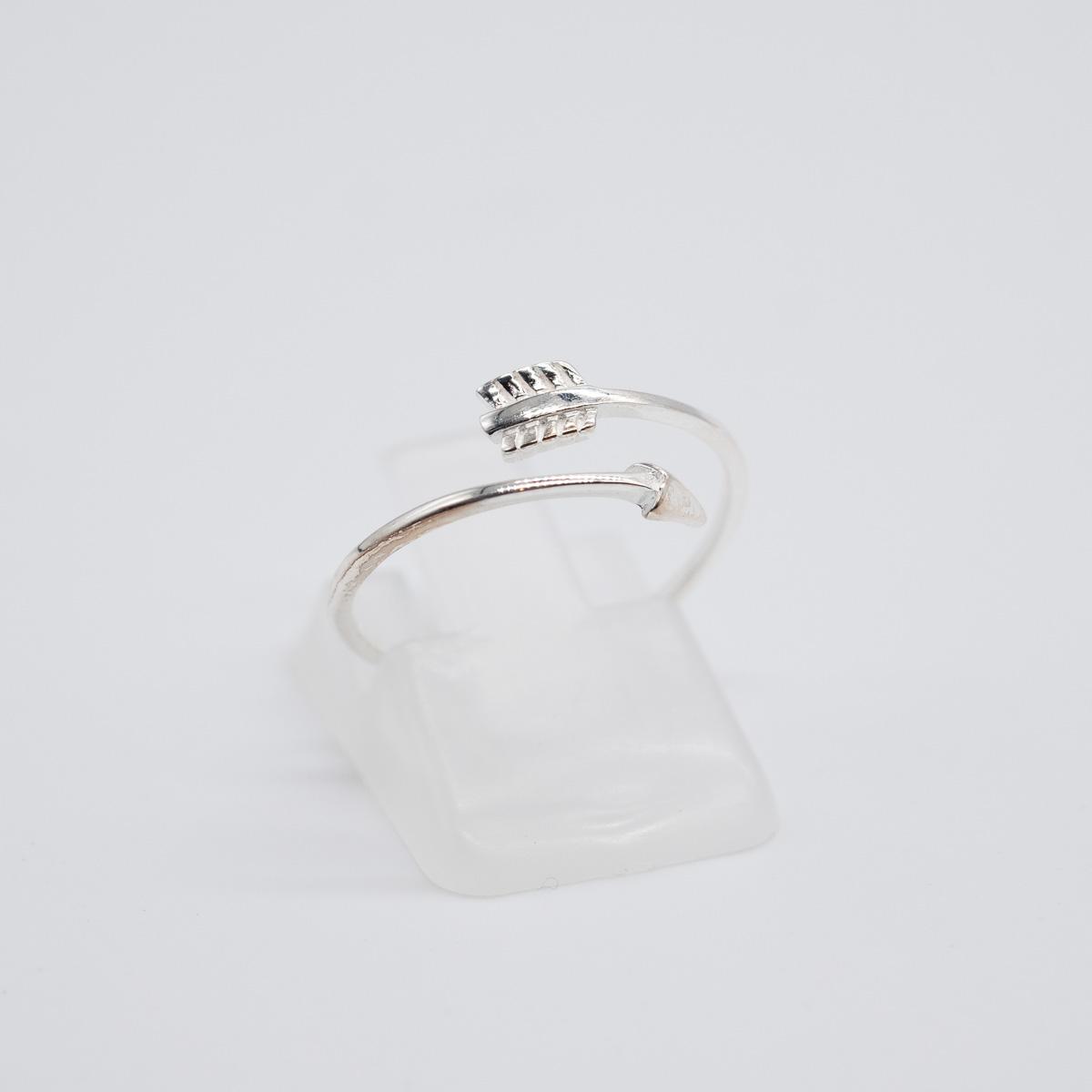 RNG-006 boho bohemian ring pijl zilver