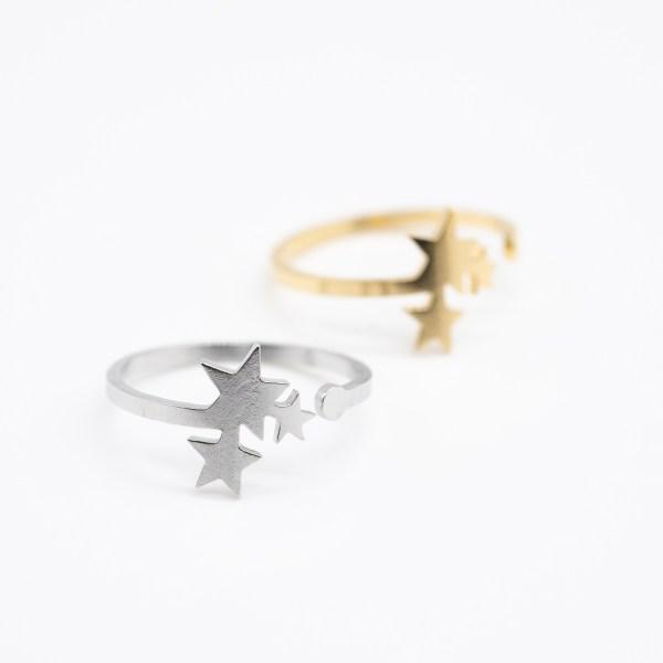 RNG-011 boho ring sterren