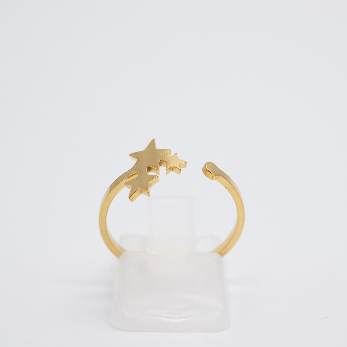 RNG-011 gouden ring sterrejes bohemian