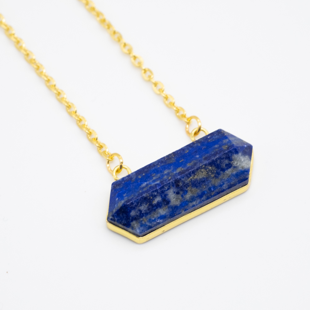 KET-050 lapis lazuli ketting