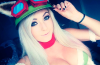 Jessica Nigri in her Teemo (from League of Legends) cosplay at Fan Expo.