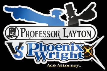 Professor Layton Vs. Phoenix Wright Logo