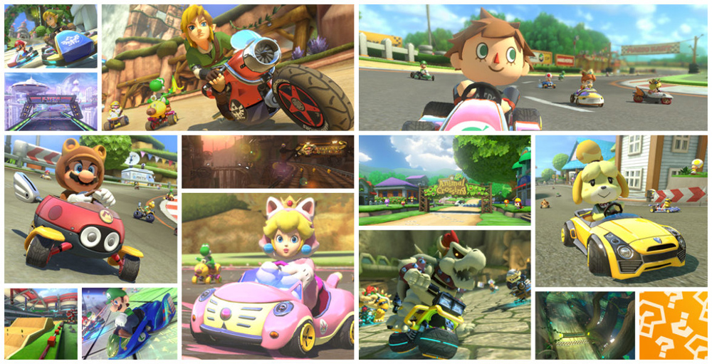 Mario Kart 8 - The Legend of Zelda & Animal Crossing DLC © Nintendo