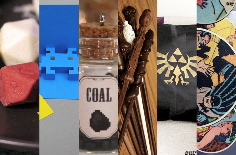 6 DIY Geeky Holiday Gifts