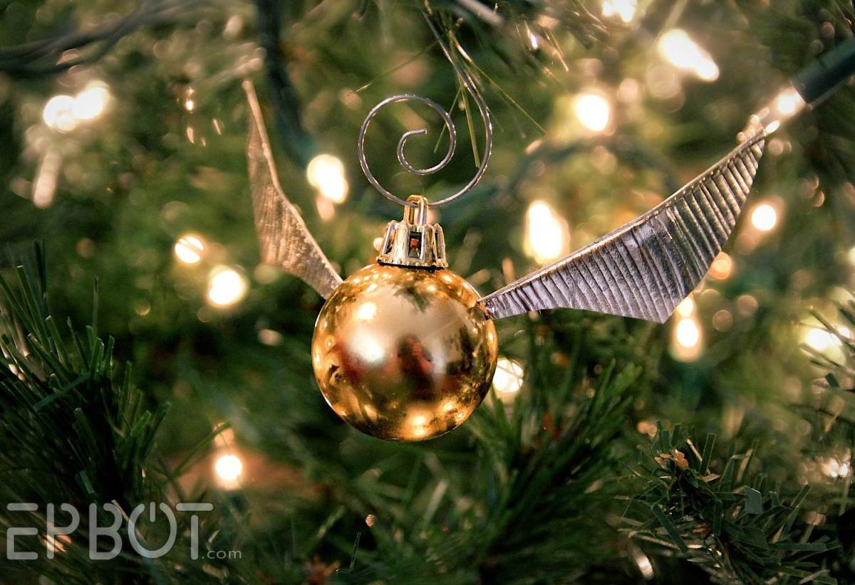 Golden Snitch Ornament tutorial by Epbot
