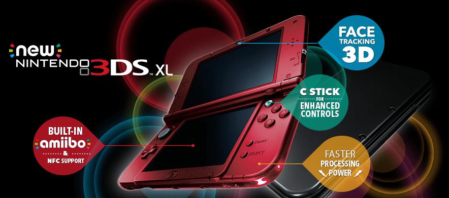 New Nintendo 3DS XL (via Nintendo)