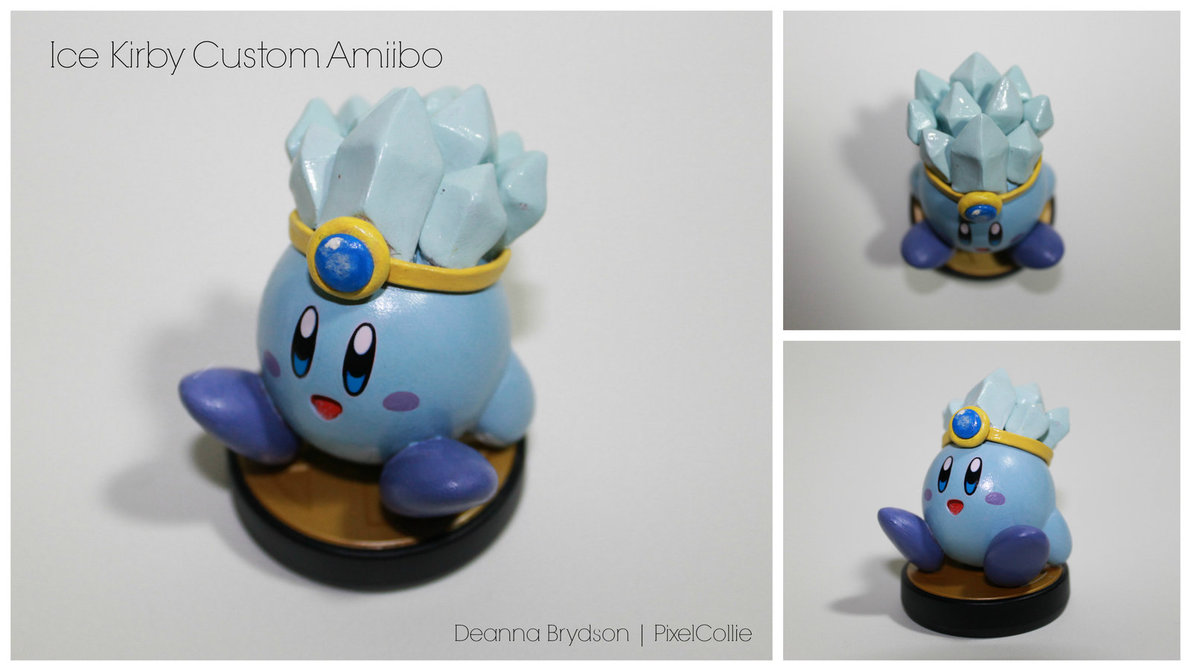 Ice Kirby by PixelCollie