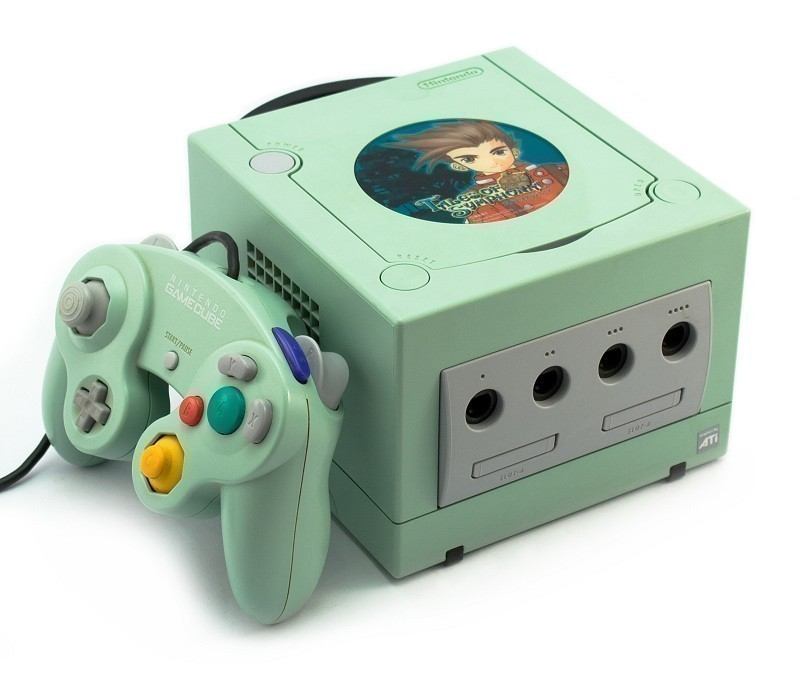 Limited Edition Tales of Symphonia Gamecube (via Konsolenkost)