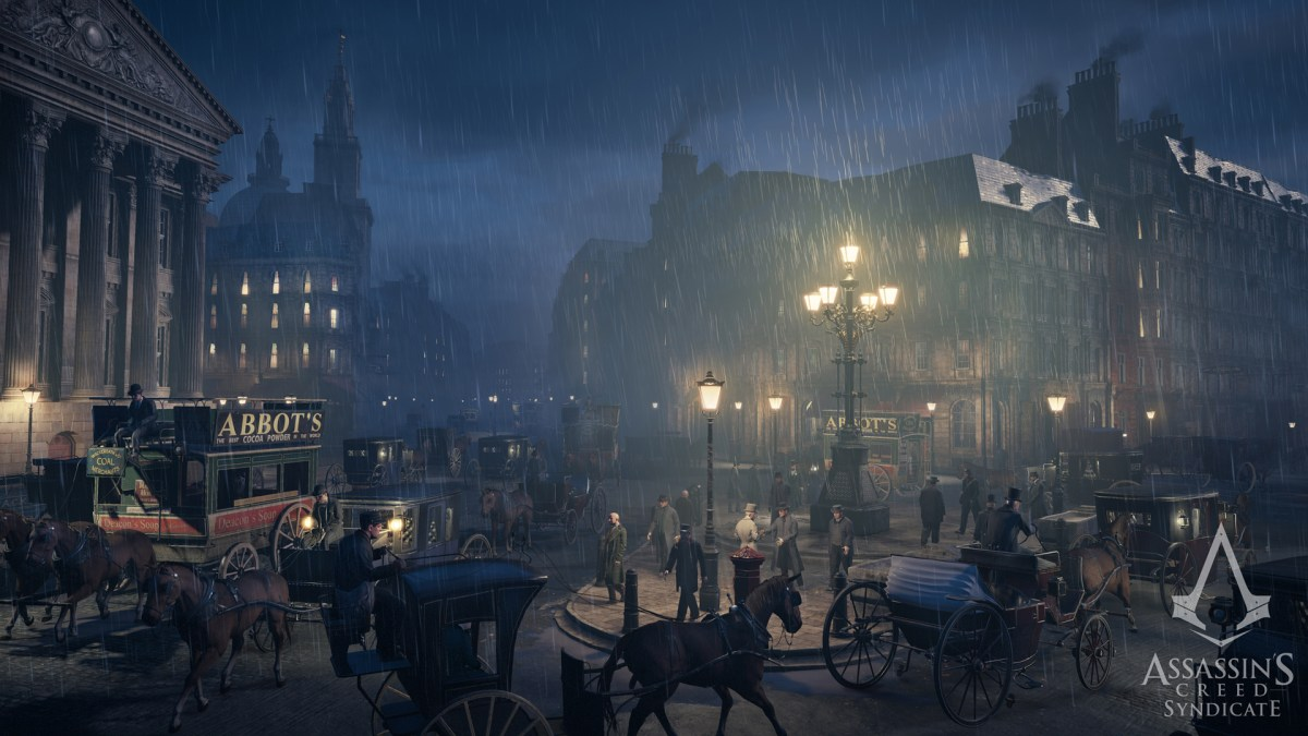 Assassins Creed Syndicate London Dark and Stormy by Ubisoft Quebec