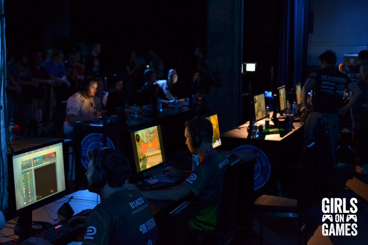 Behinds the scenes at ESWC 2015.