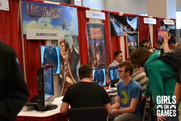 Multijoueur.ca's Indie Gaming Alley at Montreal Comiccon 2015. Photo © Catherine Smith-Desbiens / Girls on Games