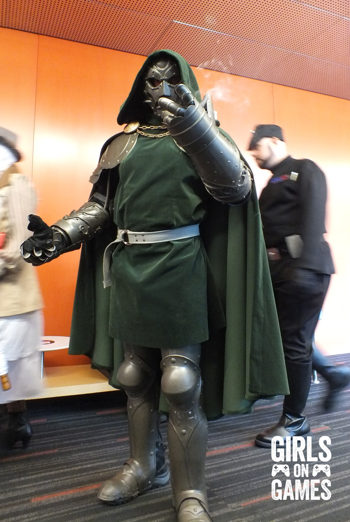 Dr Doom cosplay at Montreal Comiccon 2015. Photo © Simon Marcoux / Girls on Games