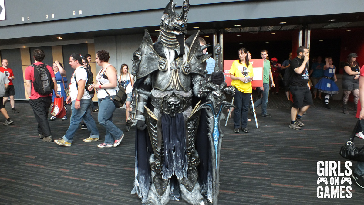 The Lich King cosplay at Montreal Comiccon 2015. Photo © Simon Marcoux / Girls on Games