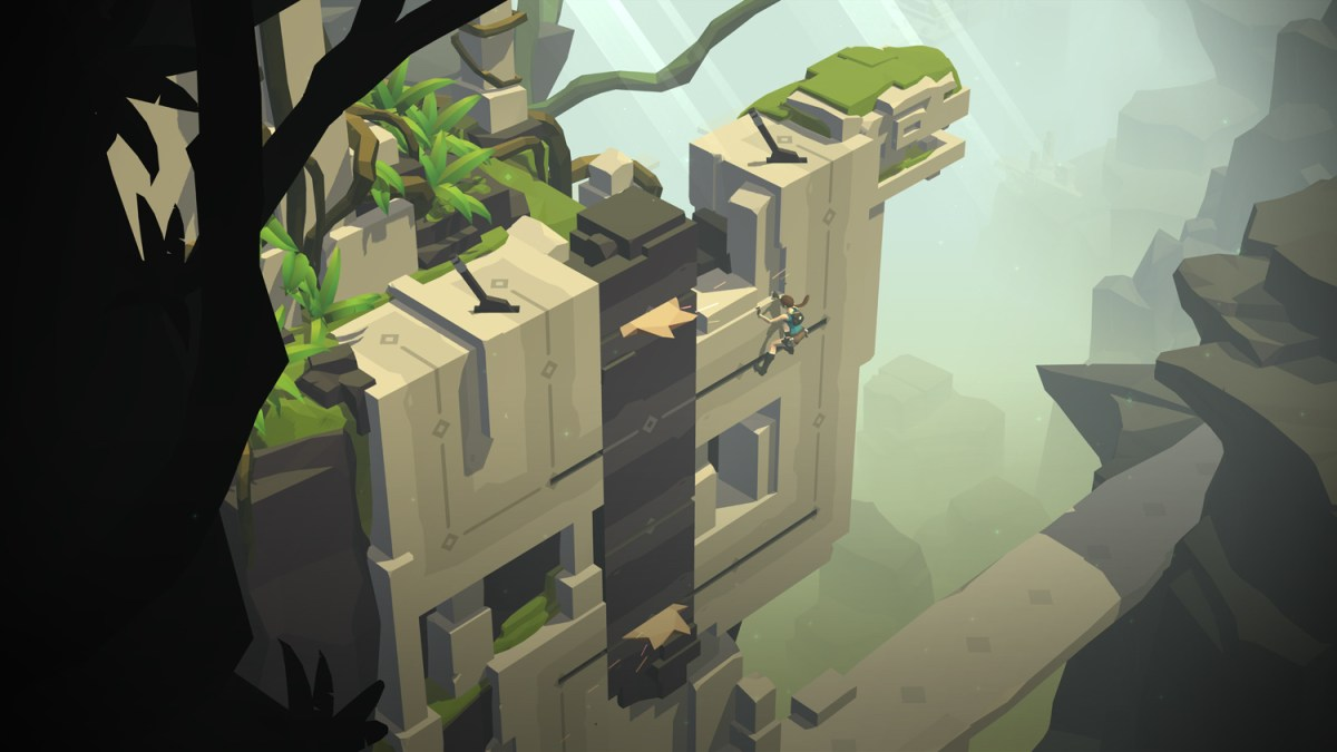 Vertical Puzzles - Lara Croft GO screenshot - Square Enix