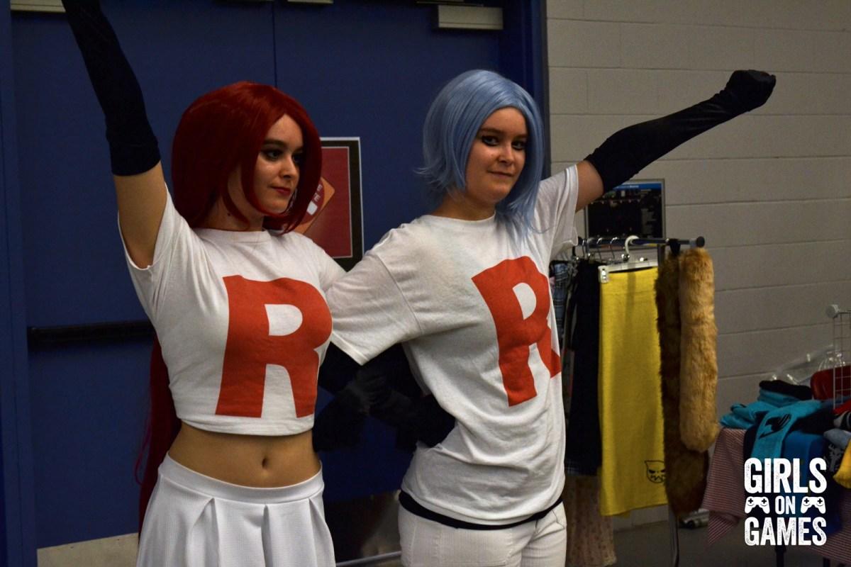 Team Rocket cosplay at Otakuthon 2015.