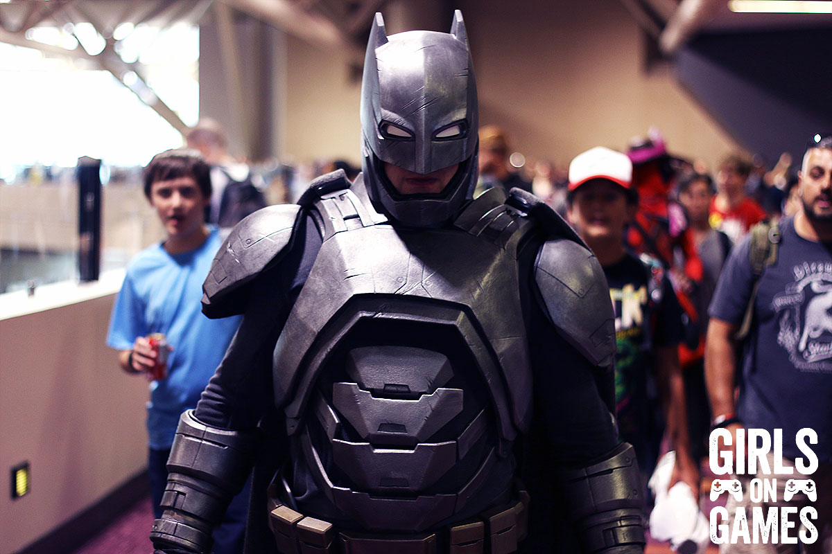 Batman cosplay at Fan Expo 2015