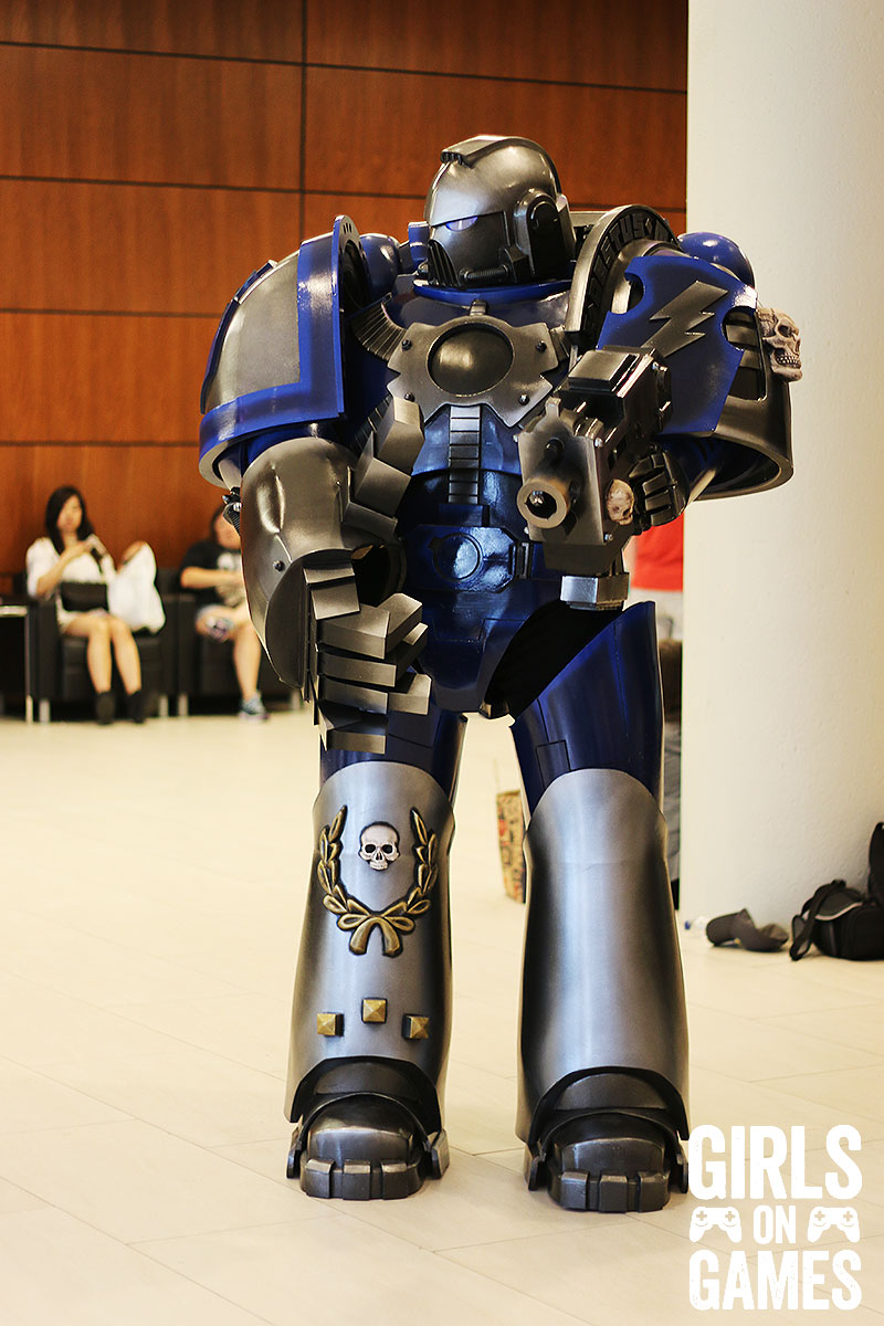 Warhammer cosplay at Fan Expo 2015.
