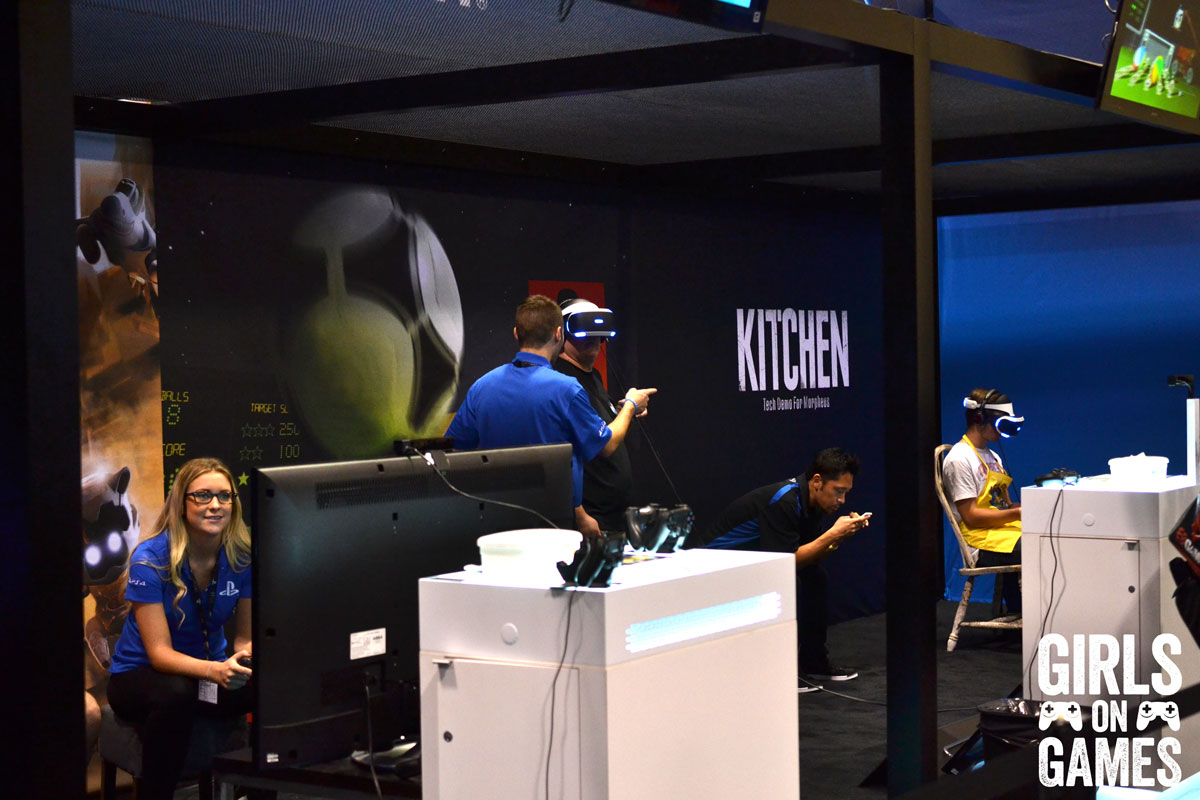 Project Morpheus at the PlayStation Booth at Fan Expo 2015