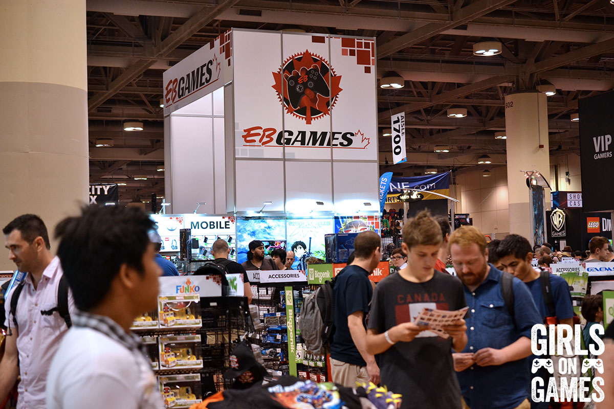 EB Games at Fan Expo 2015